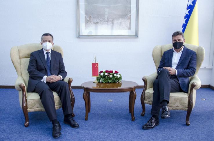 Sa susreta ambasadora  Pinga i premijera Novalića