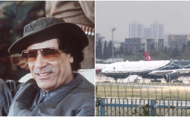 Gadafijev ukleti avion sletio u Istanbul