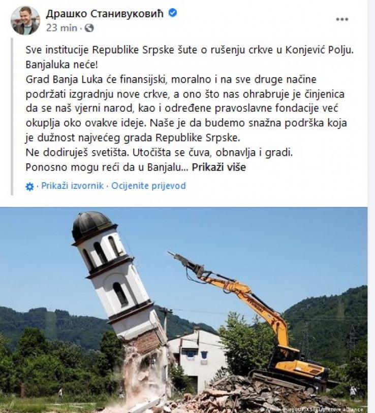 Stanivukovićev status