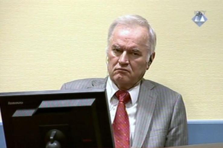 Zločinac Mladić: Za sutra zakazano izricanje pravosnažne presude
