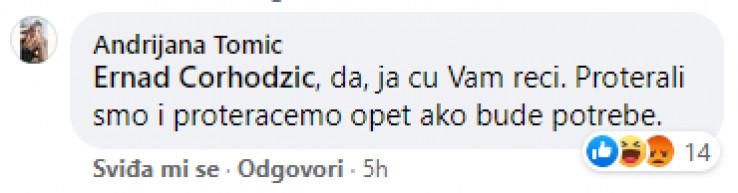 Komentar na Facebooku