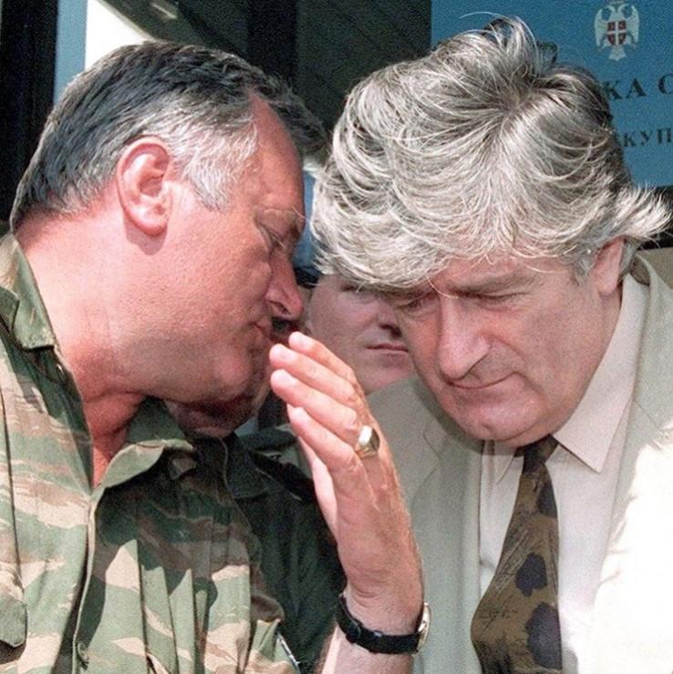 Mladić i Karadžić