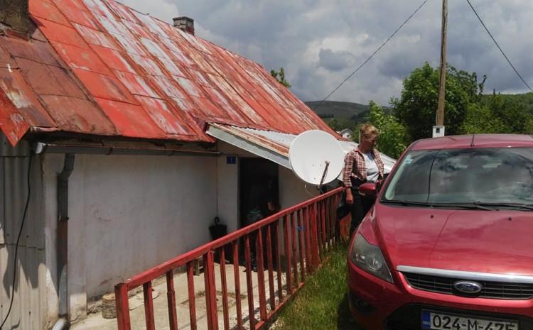 Rodna kuća zločinca Mladića u Kalinoviku