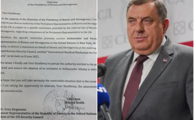 Dodik pisao Svenu Jurgesonu