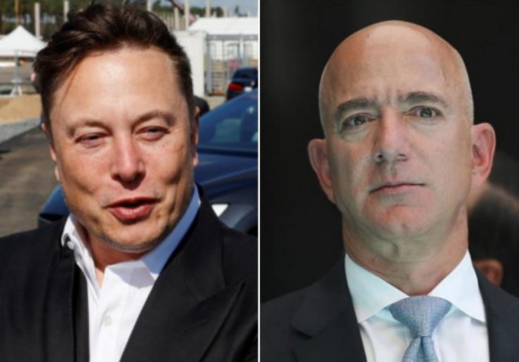 Mask i Bezos