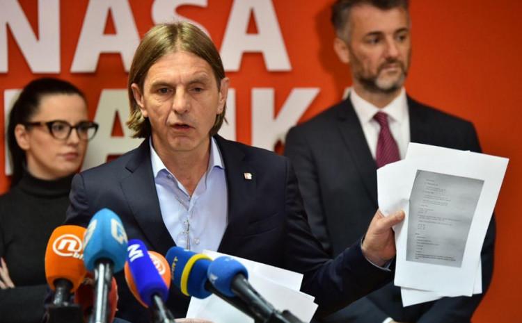 Naša stranka: Vlada Federacije je dužna dati ove odgovore građanima