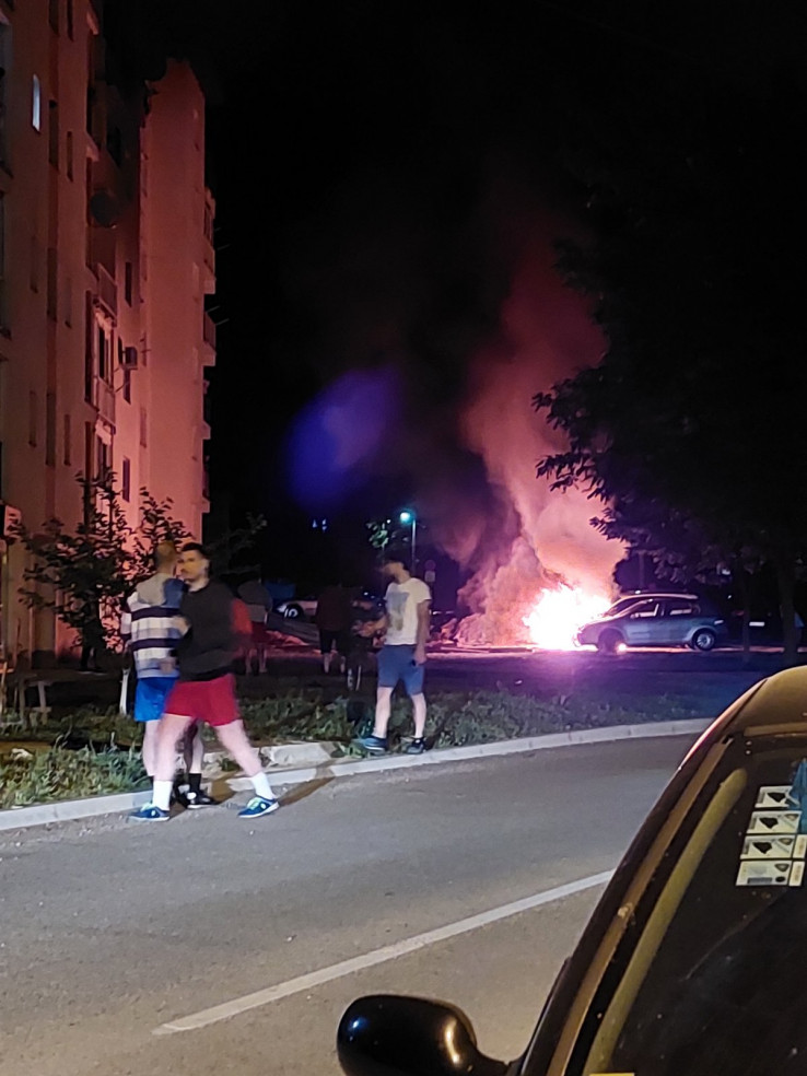Požar u Vogošći