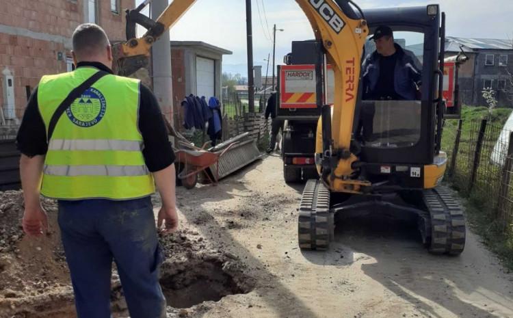 Radovi u mnogim sarajevskim ulicama