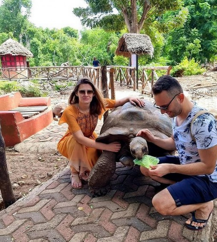 Bračni par Buturović u Zanzibaru