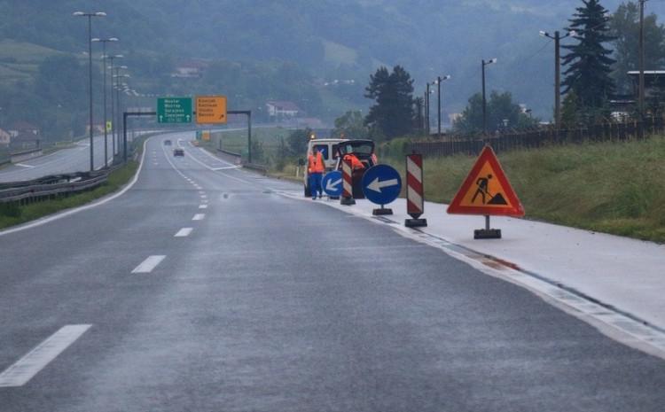 Zbog radova na mostu na A1 se saobraća preticajnom trakom