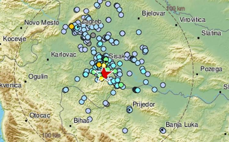 Zemljotres bio jačine 3.5 po Rihteru