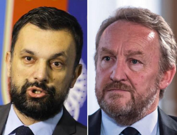 Elmedin Konaković i Bakir Izetbegović