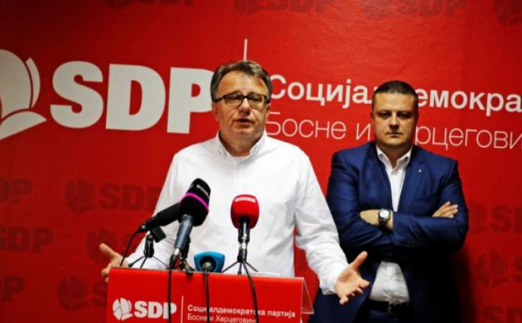 SDP BiH: Antidržavnički mentalni sklop SDA