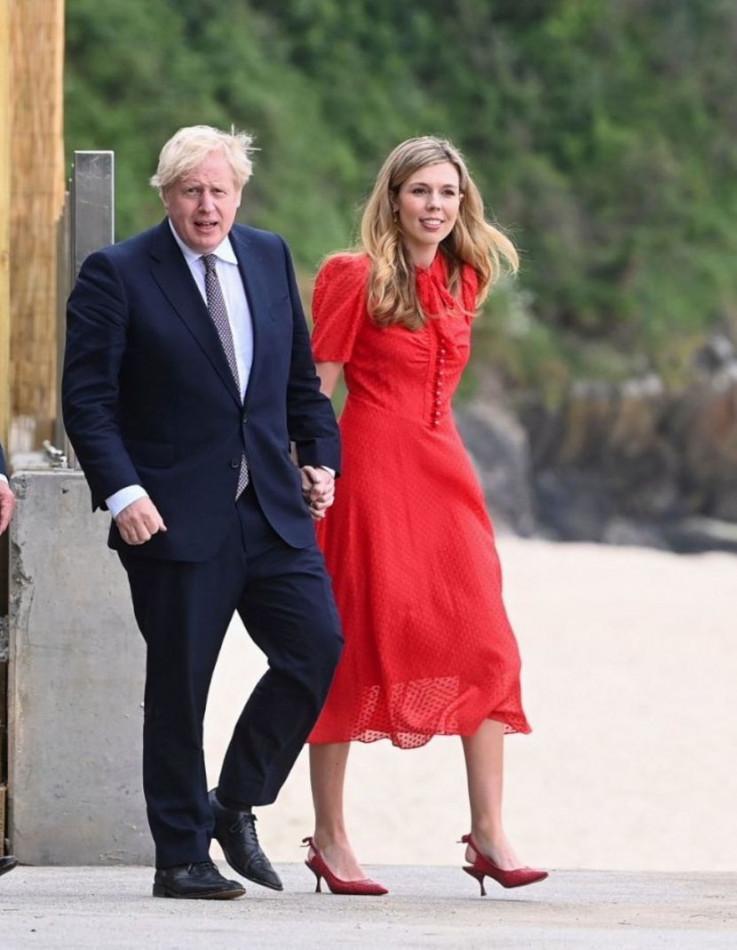 Boris i Keri Džonson