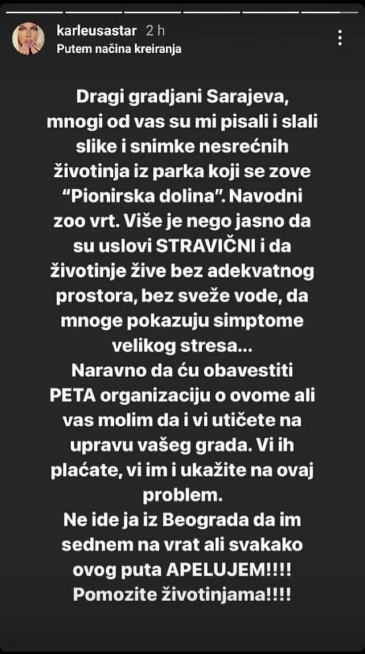 Objaka Jelene Karleuše