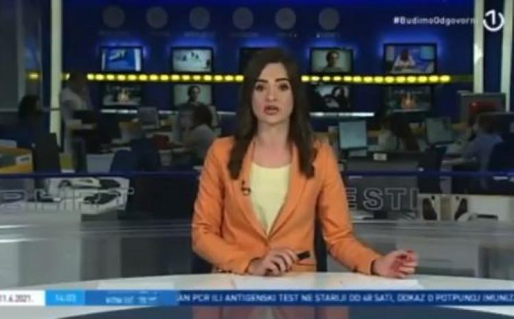 """Voditeljica Dnevnika na BHT1 jučer Armiju Republike BiH nazvala """"takozvanom"""""""