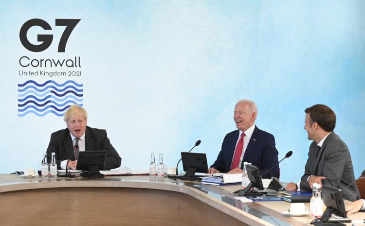 Džonson jučer otvorio trodnevni samit G7