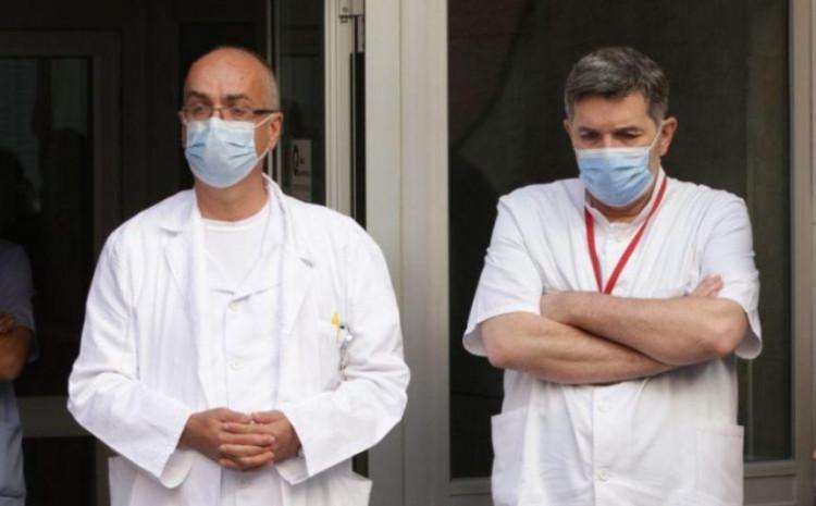 Dr. Sead Željo (lijevo) i dr. Ismet Gavrankapetanović