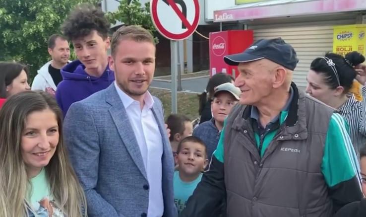 Stanivuković s građanima Istočne Ilidže