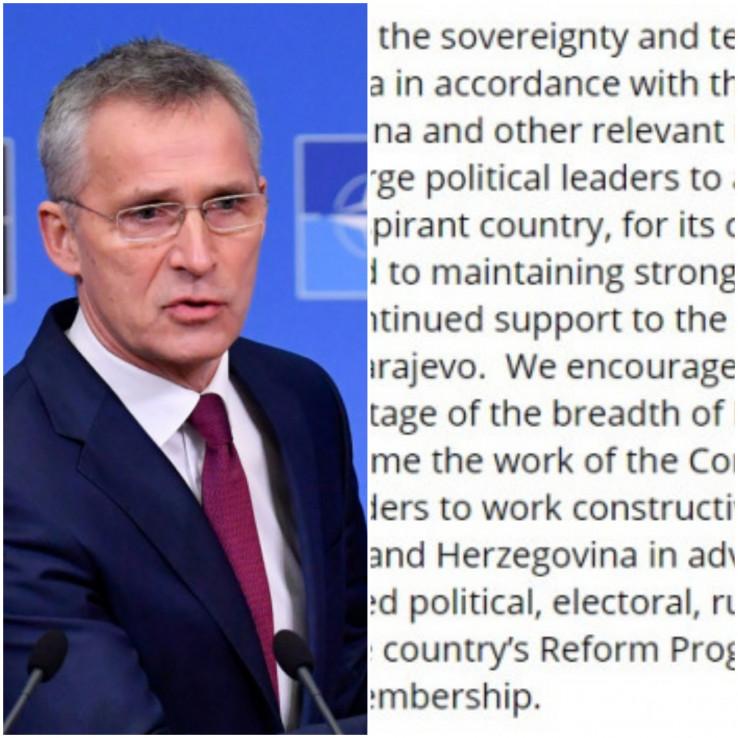 Alijansa pohvaljuje Bosnu i Hercegovinu, državu koja teži članstvu, za njen doprinos operacijama pod vodstvom NATO-a