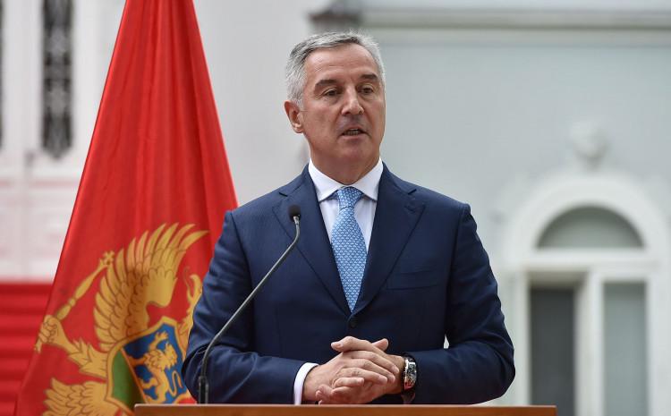 Đukanović: Odbio dati saglasnost za 11 ambasadora