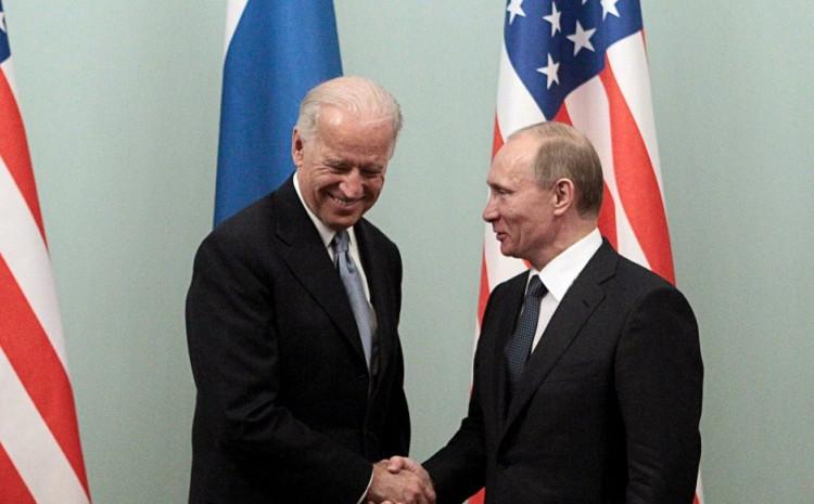 Džo Bajden i Vladimir Putin