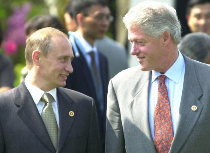 Vladimir Putin i Bil Klinton