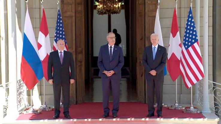 Putina i Bajdena je dočekao predsjednik Švicarske Gaj Parmelin