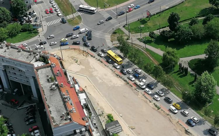 Saobraćajni kolaps jučer u ulicama Kranjčevićeva, Put života, Zmaja od Bosne…