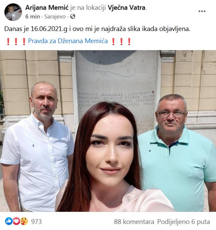 Arijana objavila zajedničku fotografiju sa ocem i advokatom Feragetom