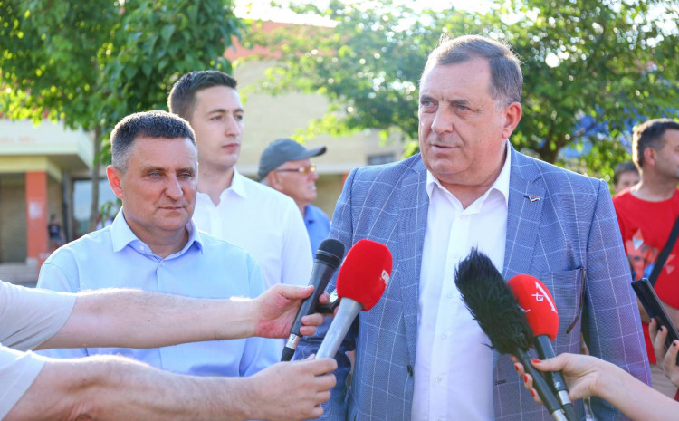 Lider SNSD-a Milorad Dodik