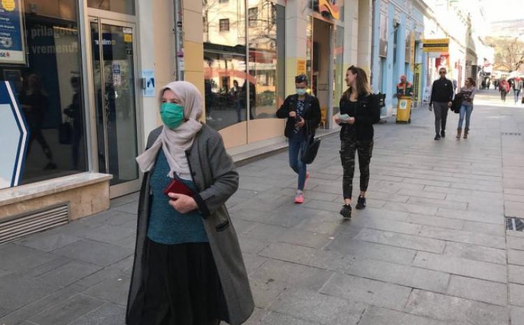 BiH: Na koronavirus pozitivna 61 osoba