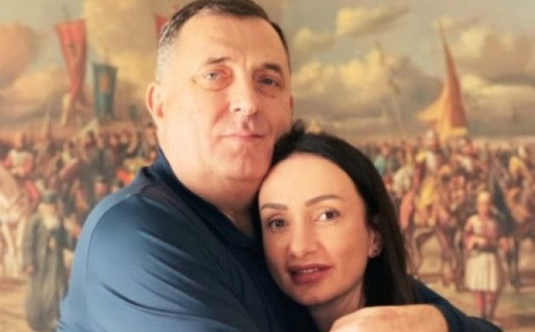 Milorad i Gorica Dodik