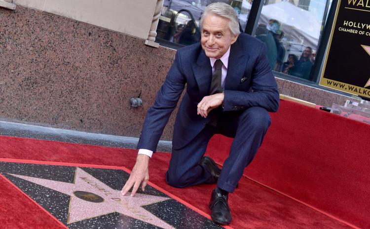 Majkl Daglas svojevremeno dobio svoju zvijezdu