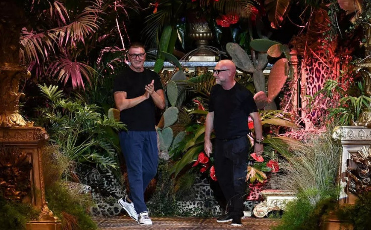 Dolce & Gabbana are among those due to take the plunge with a return to live audiences at Milan fashion