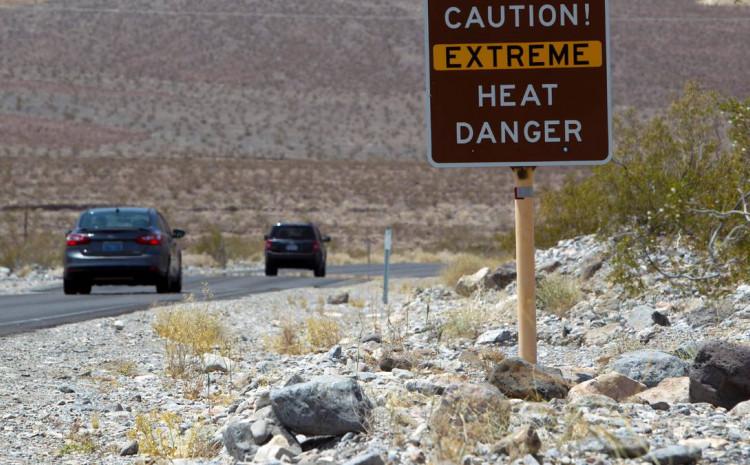 Izdato upozorenje za ekstremne vrućine u pet država Kaliforniji, Nevadi, Uti, Arizoni i dijelovima Kolorada