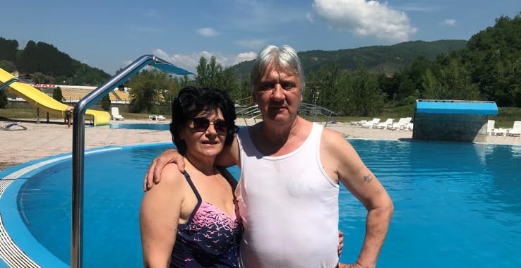 Bračni par Slađana i Enver Ribić iz Sarajeva: prvi utisak je dobar