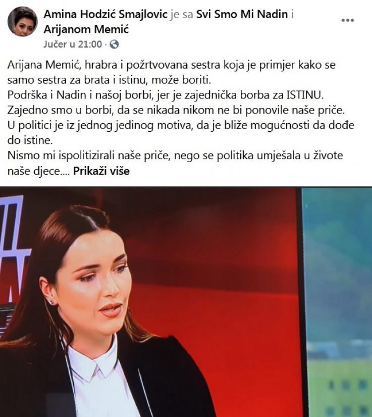 Status Amine Smajlović