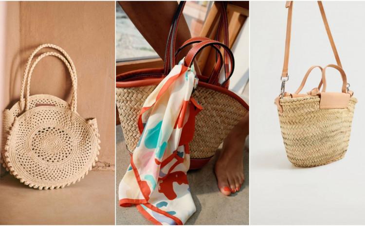 Strukturirani, manji stilovi torbi sjajno izgledaju s midi haljinama