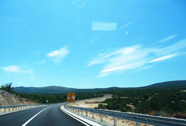 Vožnja asfaltom u dužini od devet kilometara iz Stoca