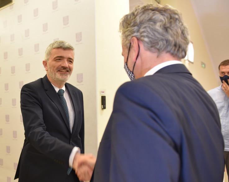 Mandić i Satler: Prva zvanična posjeta Općini Centar