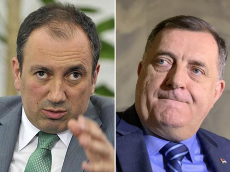 Igor Crnadak i Milorad Dodik