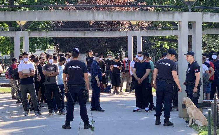 Policija pronašla 90 migranata