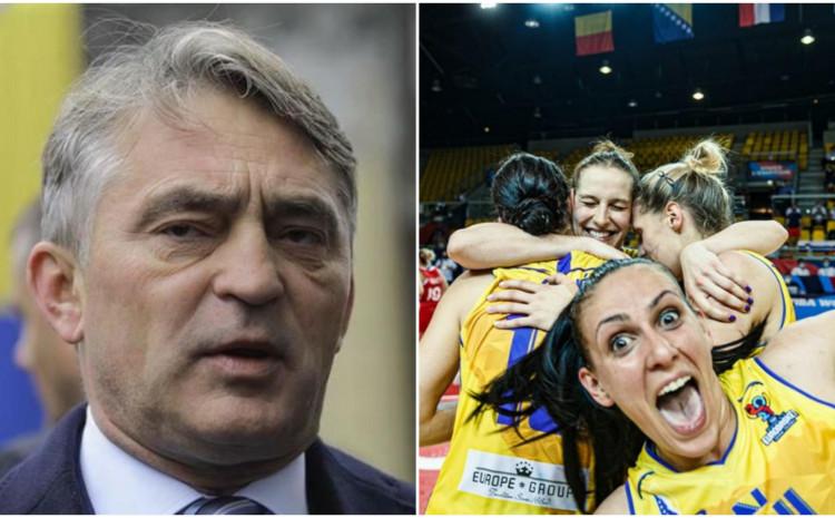 Željko Komšić odbio pomoći košarkašicama