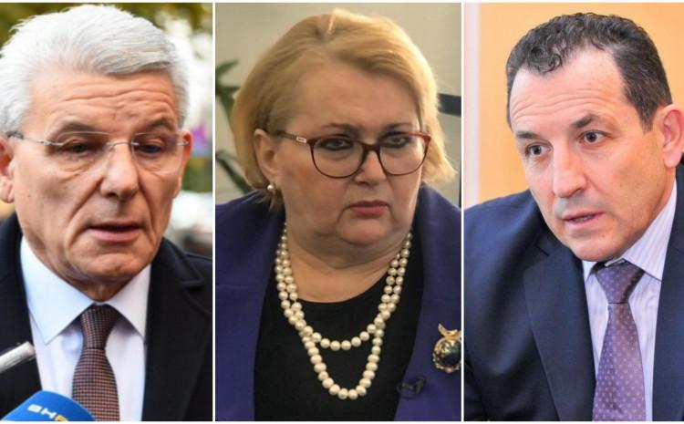 Džaferović, Turković i Cikotić: Važniji im migranti od građana BiH