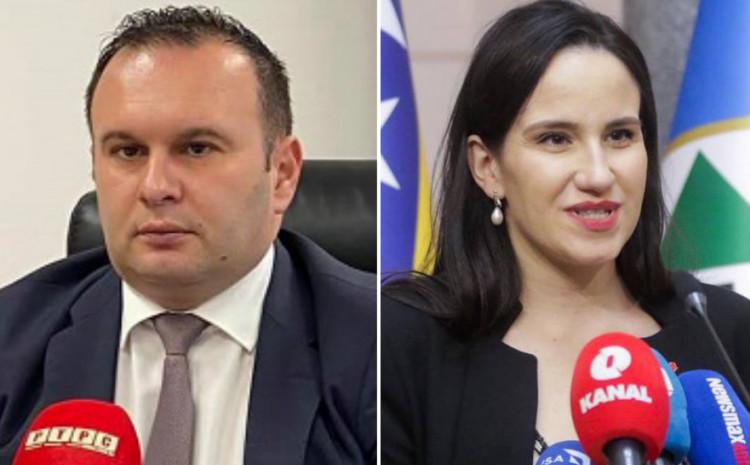 Ljubiša Ćosić i Benjamina Karić