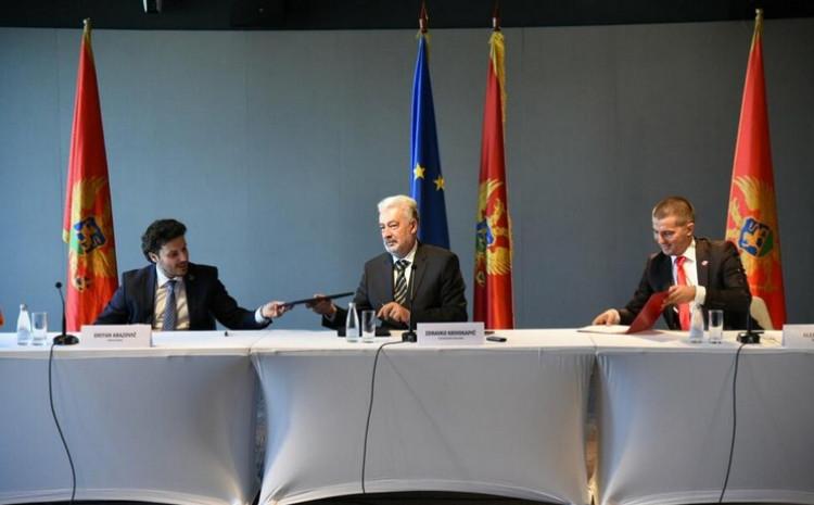 Abazović, Krivokapić i Bečić