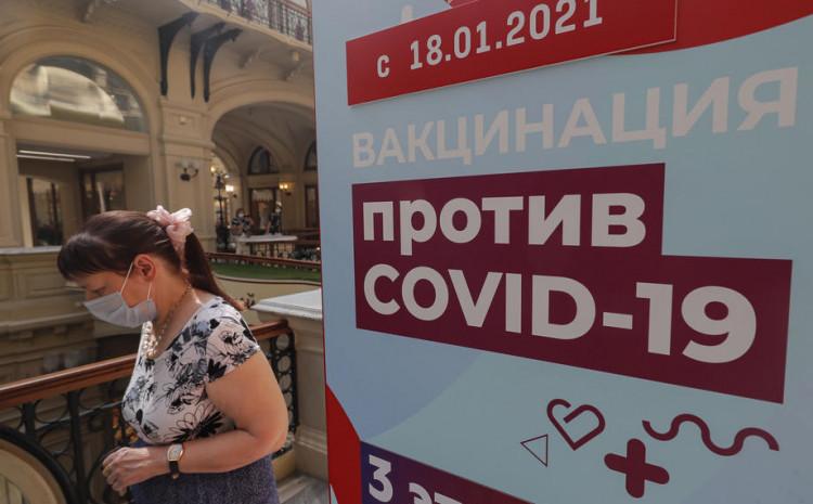 U Moskvi je danas zabilježeno 6.555 novih slučajeva koronavirusa