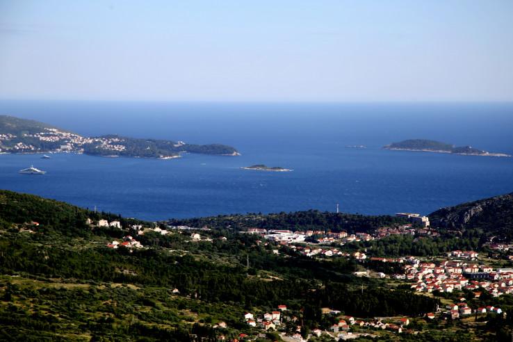 Prelijep pogled pruža se na Jadransko more