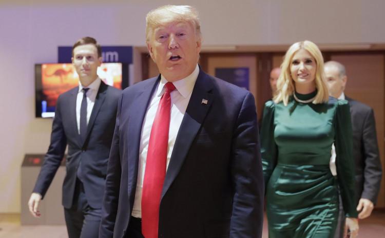 Jared, Donald i Ivanka